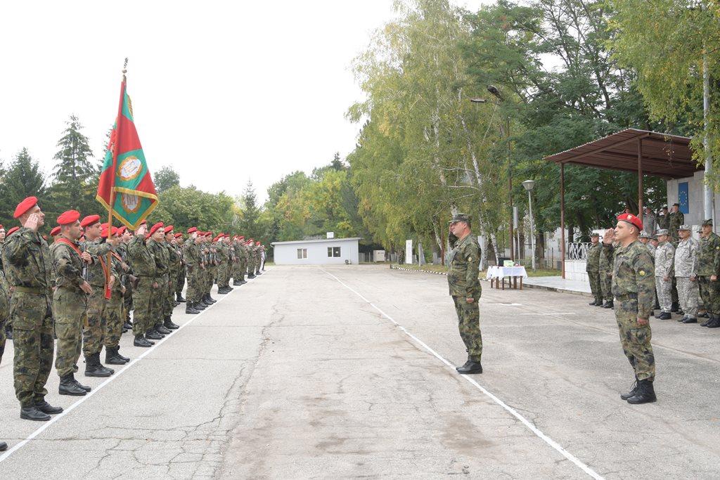 Съвместното командване на силите отбеляза 142-та годишнина от създаването на Свързочни войски и органите за информационно осигуряване (ГАЛЕРИЯ)