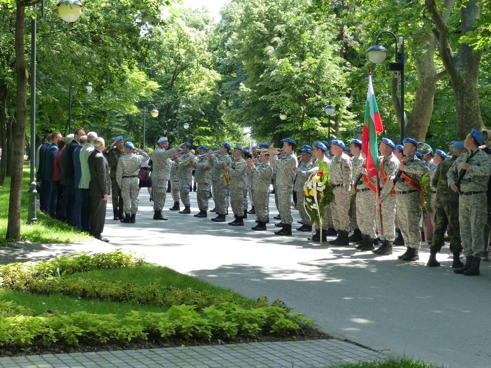 СКСО в честванията на 2 юни, Деня на Ботев и загиналите за свободата на България, в Пловдив