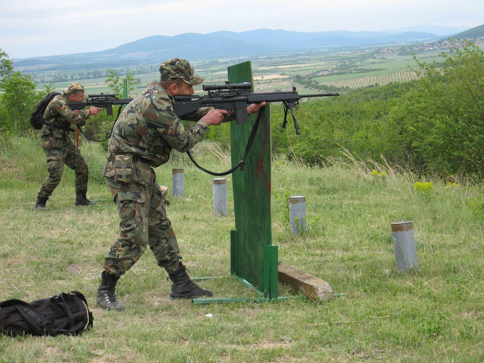 Турнир на снайперските тимове в Сухопътните войски