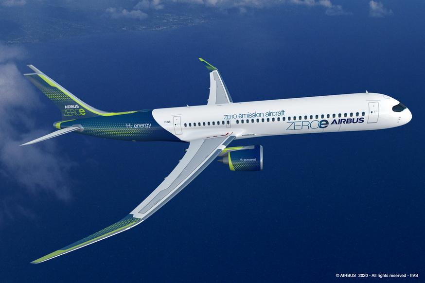 Airbus разкри 3 варианта за нов концептуален самолет с нулеви вредни емисии (ЕКСКЛУЗИВНА ГАЛЕРИЯ)
