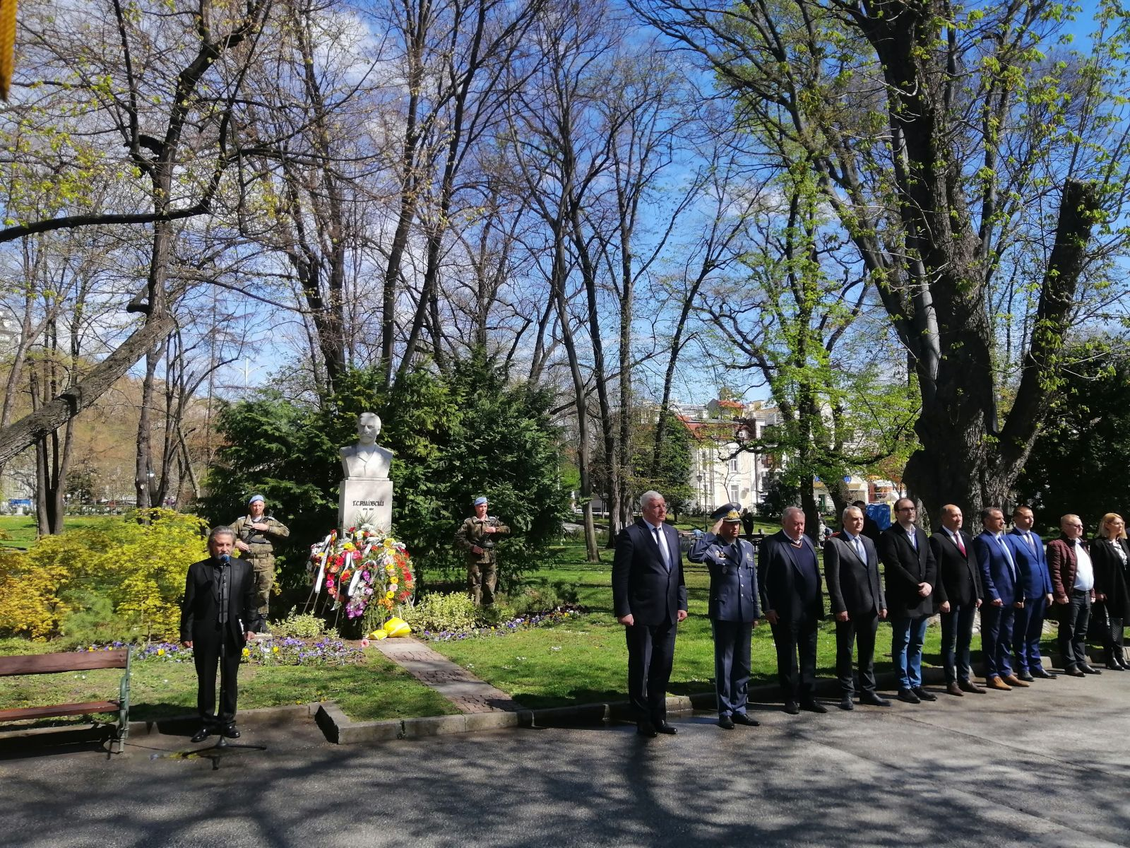 СКСО участва в честването на 200 години от рождението на Георги Раковски в Пловдив
