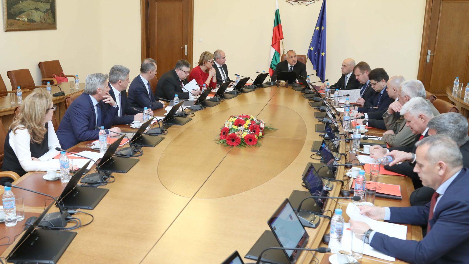 Съветът по сигурността към Министерския съвет проведе извънредно заседание (ГАЛЕРИЯ)