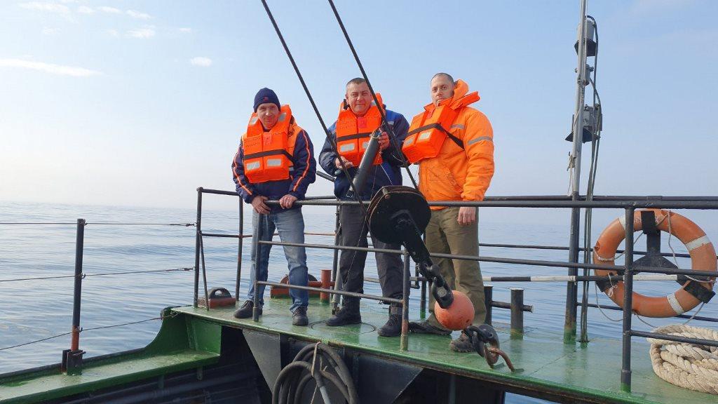 Хидрографска експедиция във Варненския и в Бургаския заливи