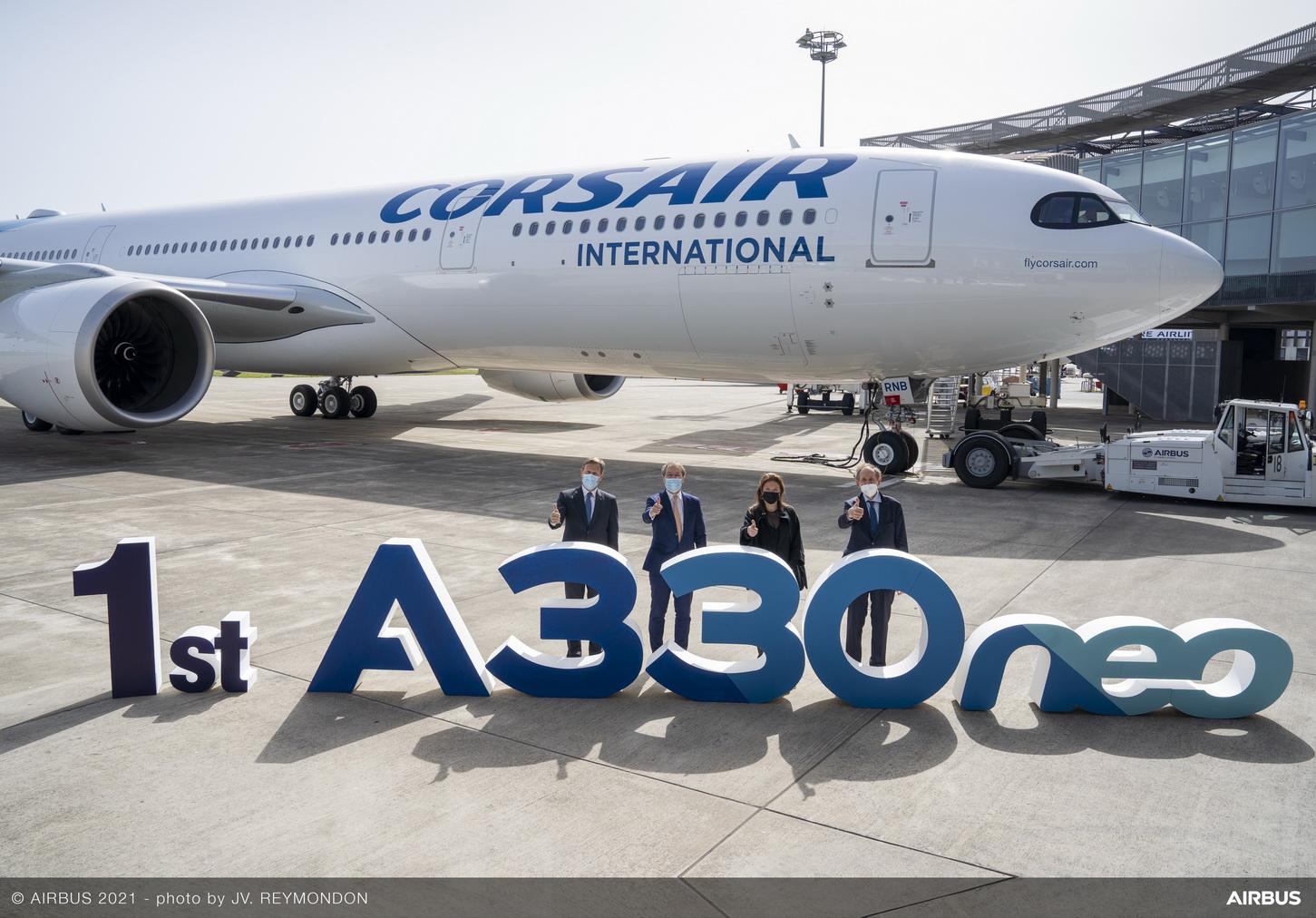 Френската авиокомпания Corsair получи първия си A330neo (ЕКСКЛУЗИВНА ГАЛЕРИЯ)