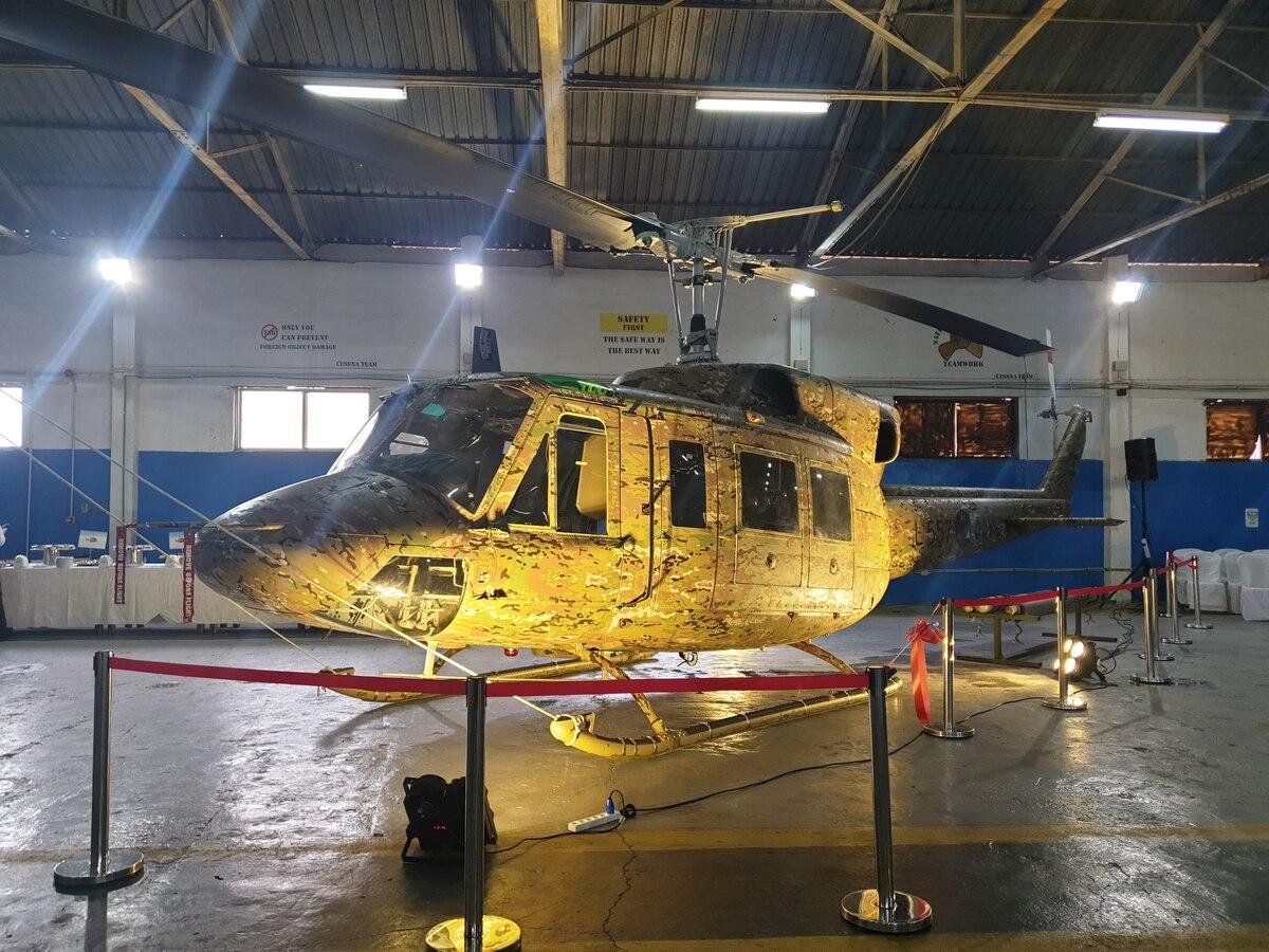 ВВС на Ливан ще въоръжат обновените вертолети AB 212