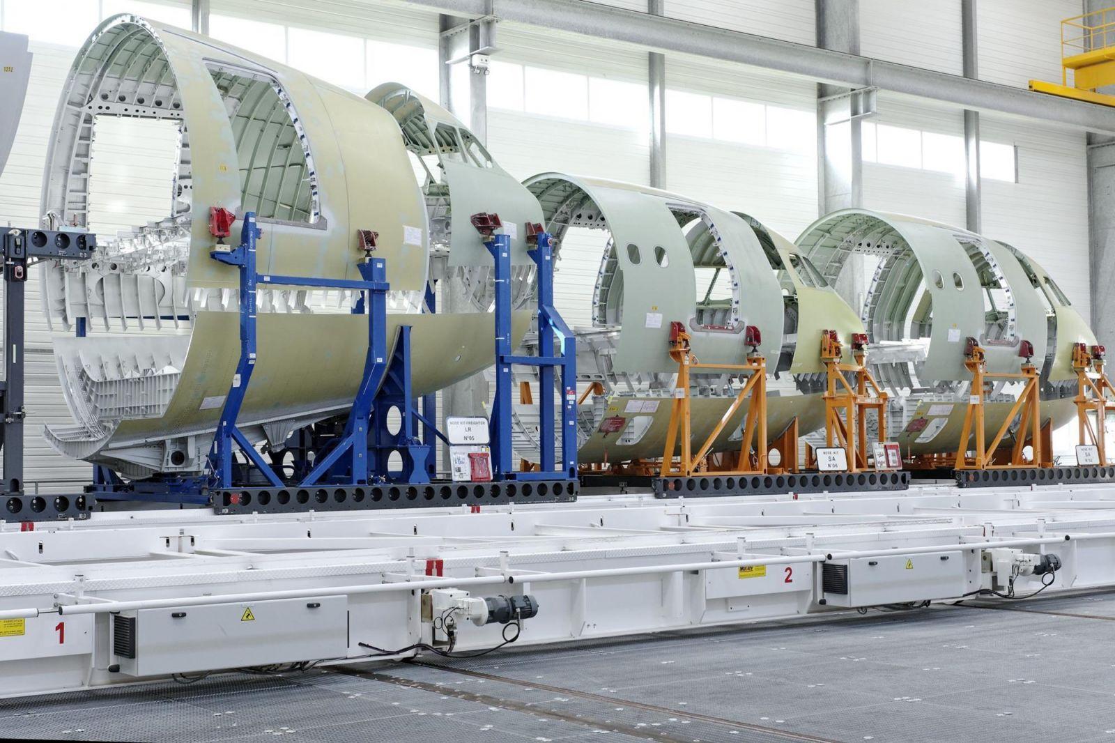 Airbus ще трансформира европейската си верига за изграждането на аероструктури