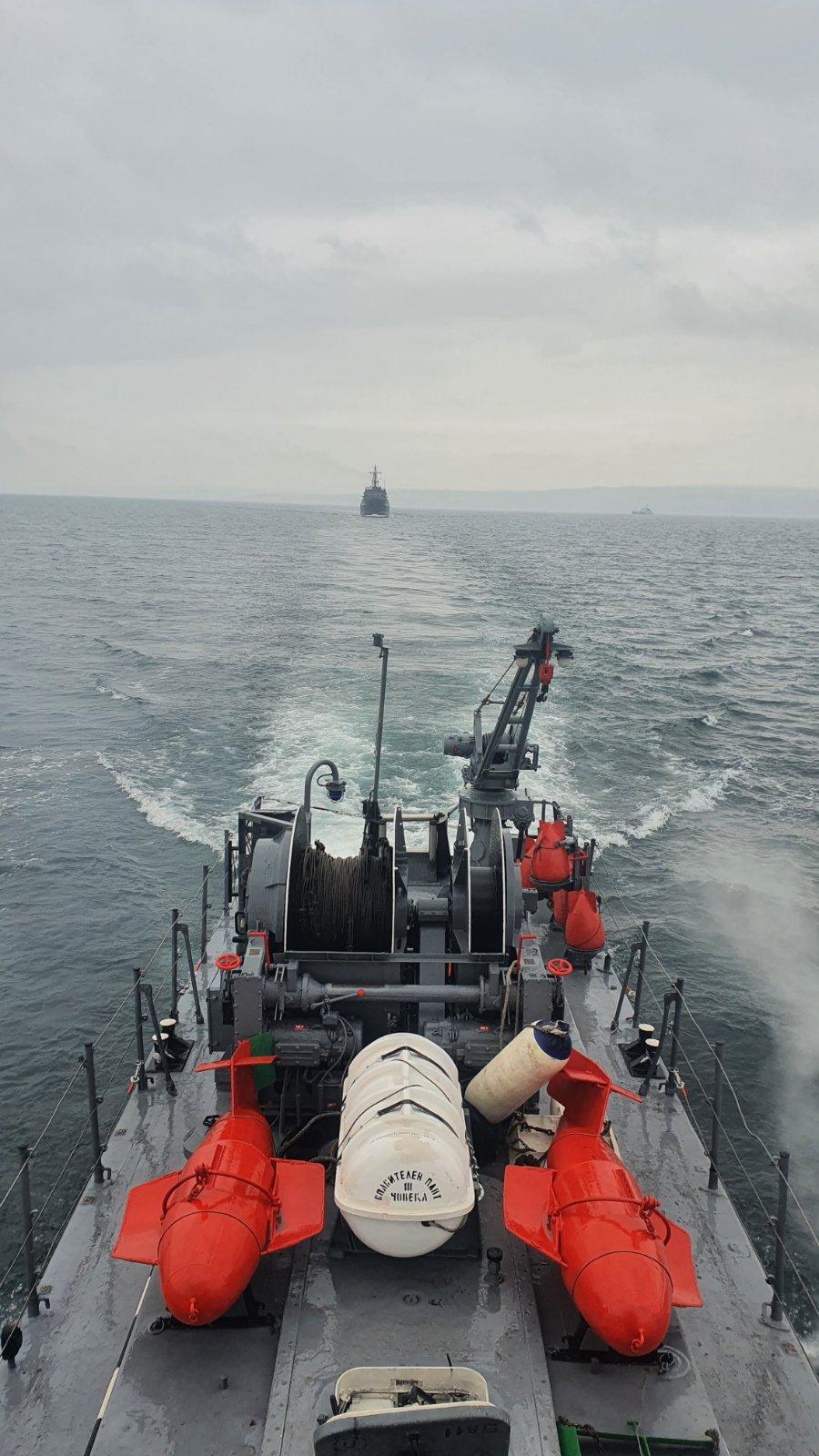 ГАЛЕРИЯ: УСИЛЕНА ПОДГОТОВКА НА БЪЛГАРСКИТЕ ВМС
