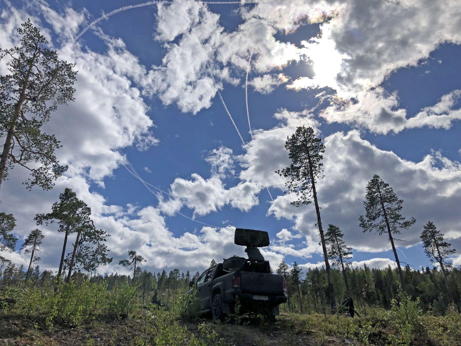 Радар Saab Giraffe и система за управление и контрол C2 се доказаха в многонационално учение (СНИМКИ)
