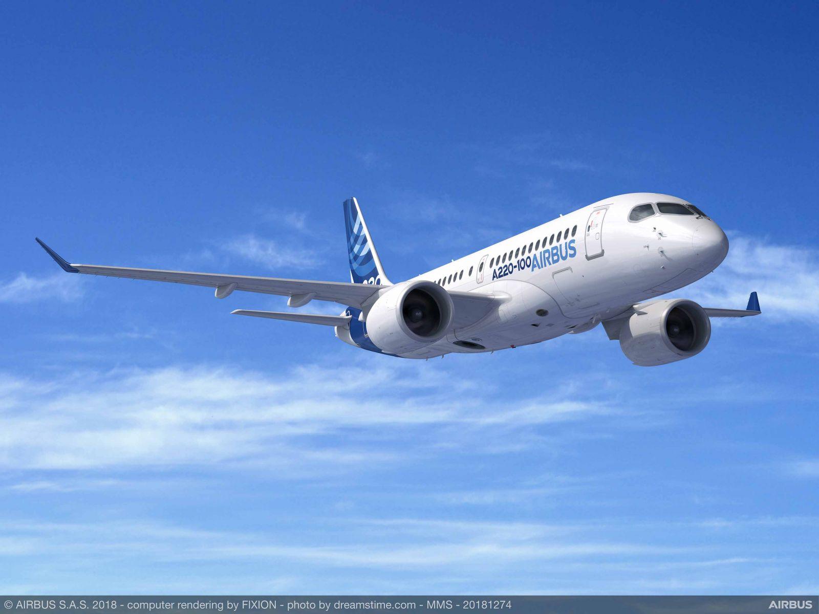 Започва строителството на производствен цех за Airbus А220 в САЩ