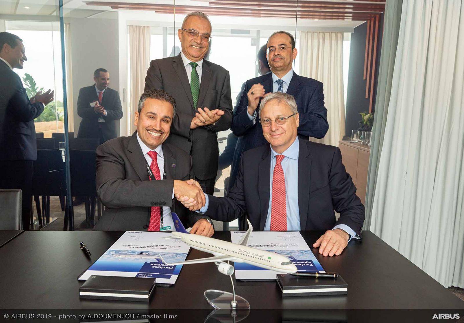 Le Bourget 2019 - Saudi Arabian Airlines ще увеличи флота си от самолети A320neo до 100 броя