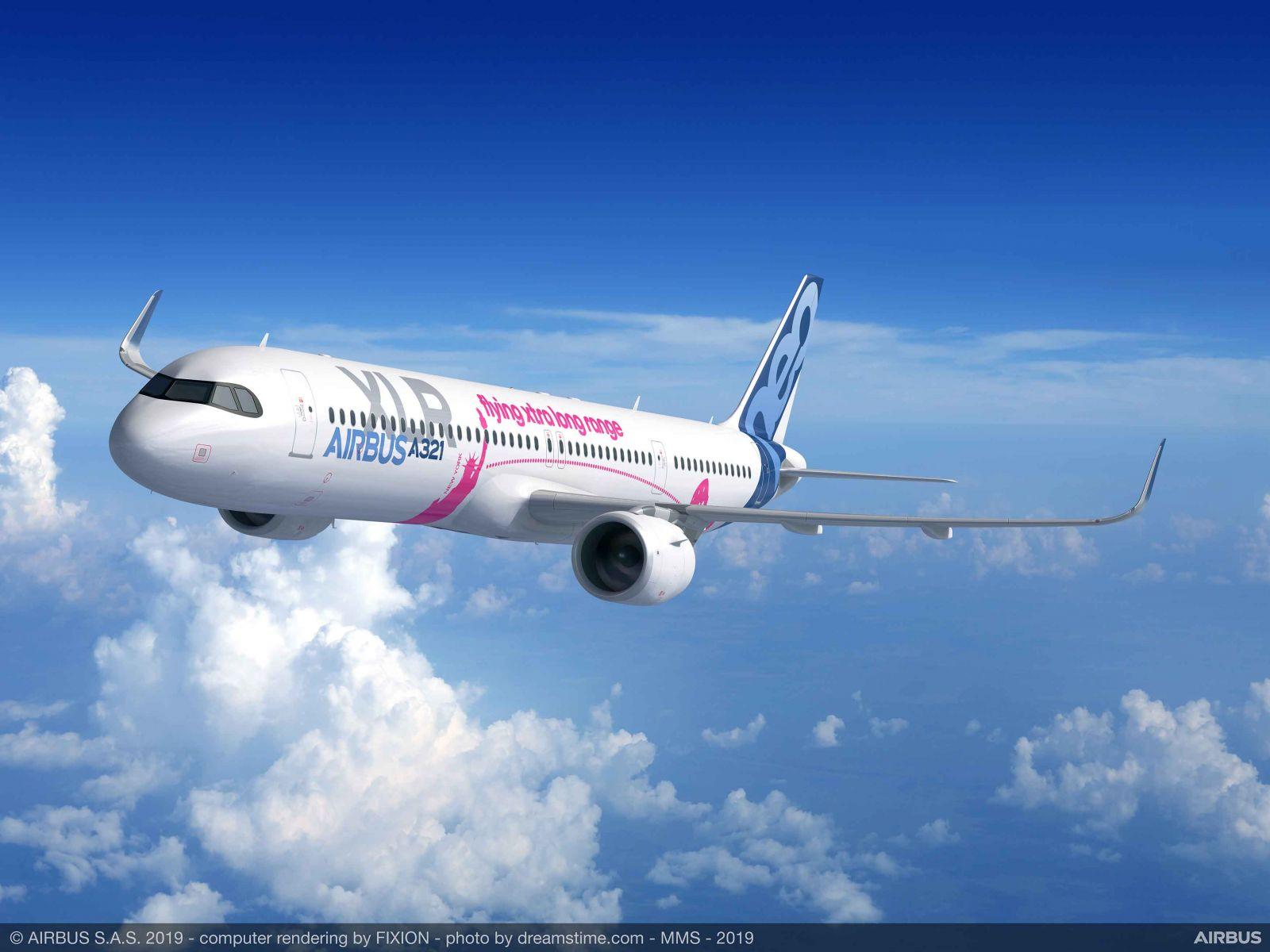 Le Bourget 2019 -  Airbus пуска най-дългия тяснофюзелажен самолет - A321XLR