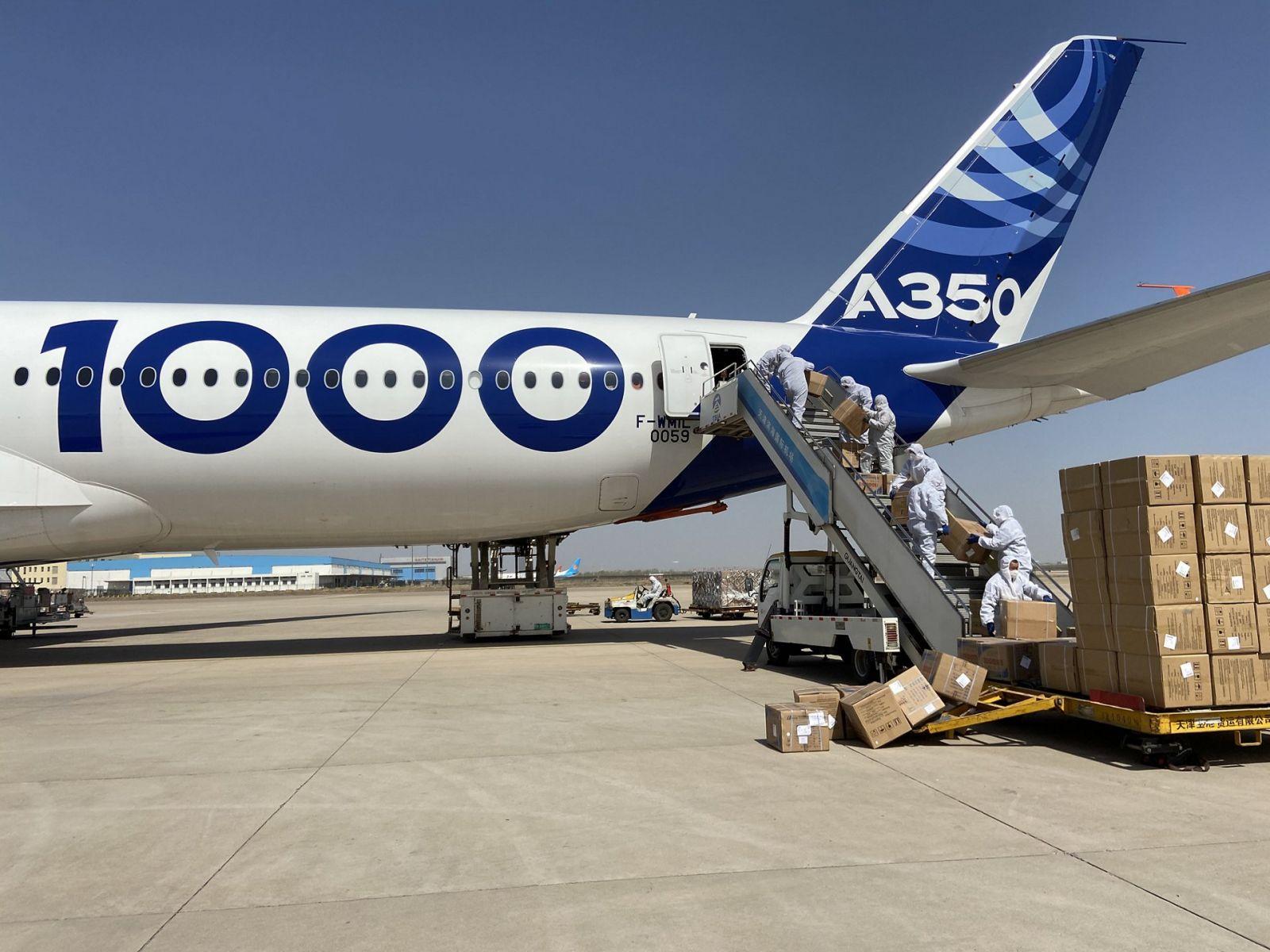 COVID-19 - Airbus задейства A350-1000 в борбата срещу коронавируса ОБНОВЕНА (СНИМКИ, ВИДЕО)