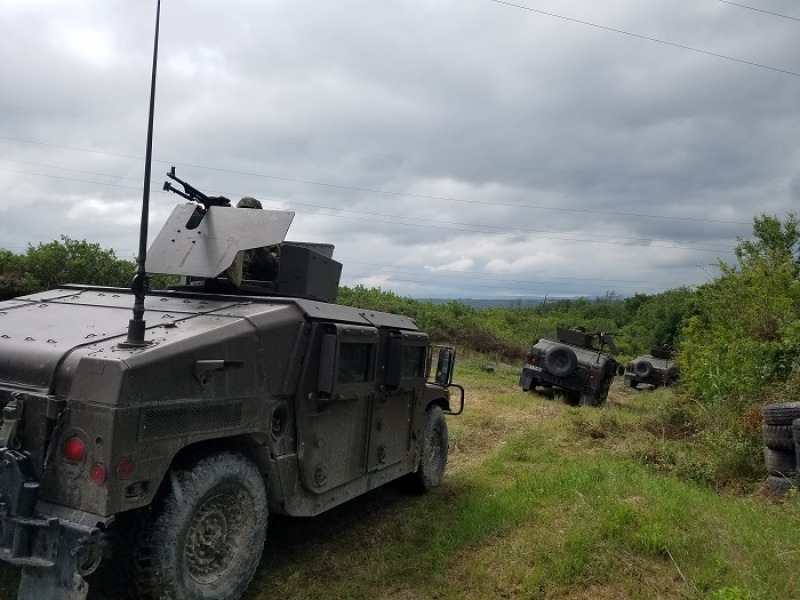 """Успешна сертификация на формирования от Сухопътните войски за междинния резерв на операцията на ЕС в Босна и Херцеговина """"Алтея"""""""