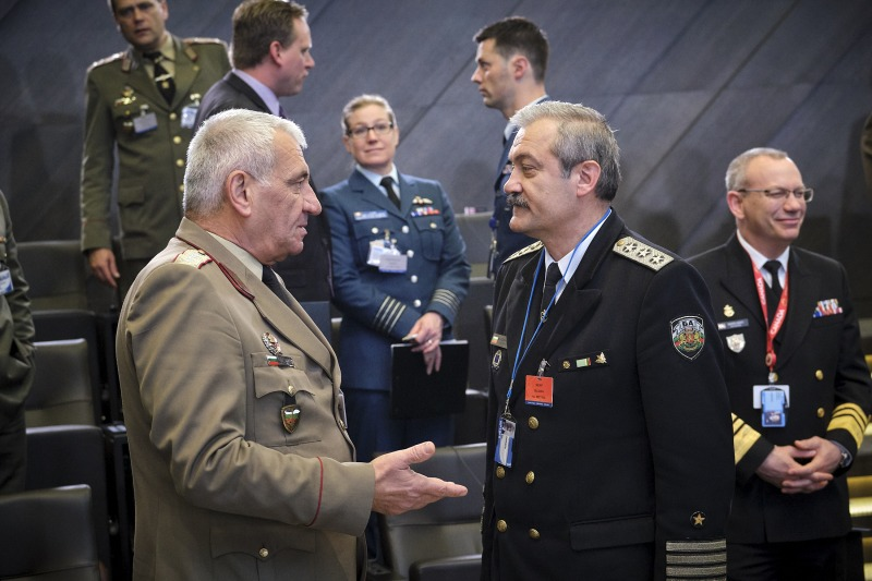 Началникът на отбраната генерал Андрей Боцев  участва в пролетните сесии на военните комитети на ЕС и НАТО в Брюксел