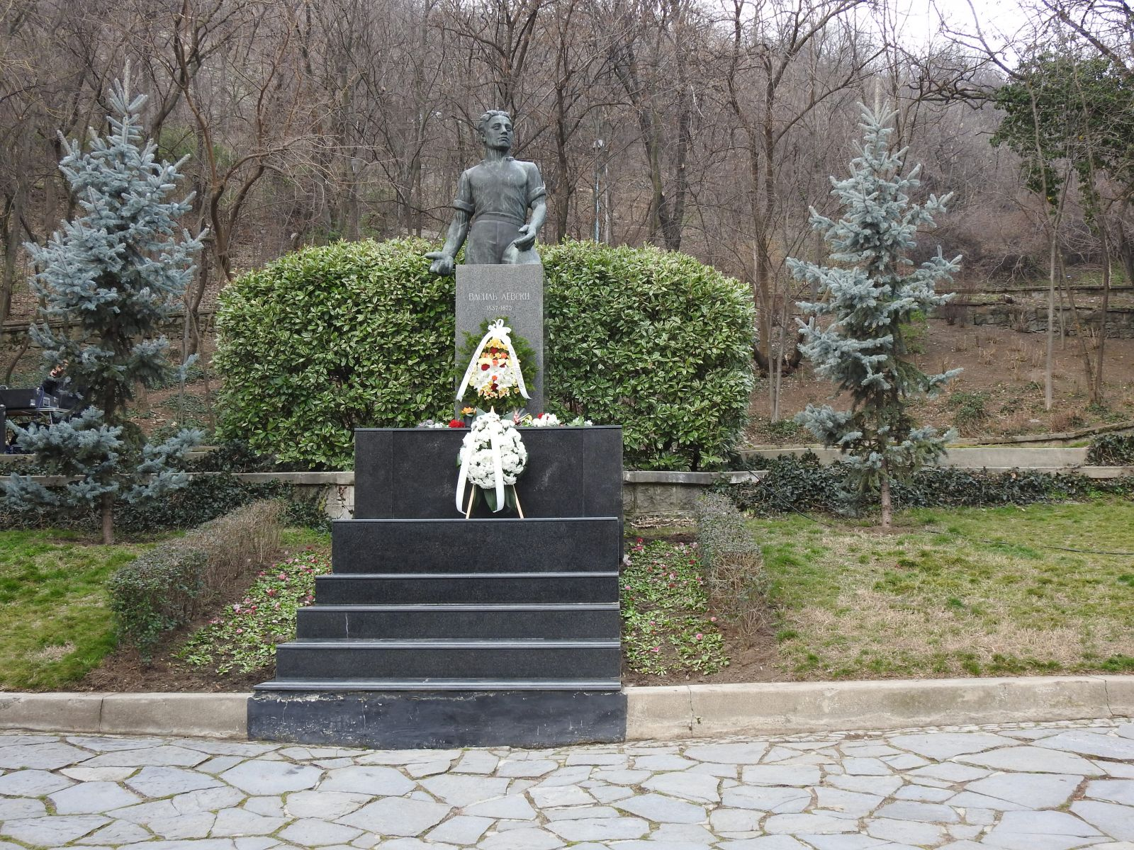 147 години от гибелта на Апостола на Свободата Васил Левски в Пловдив, ген.-майор Явор Матеев и Херо Мустафа на церемонията