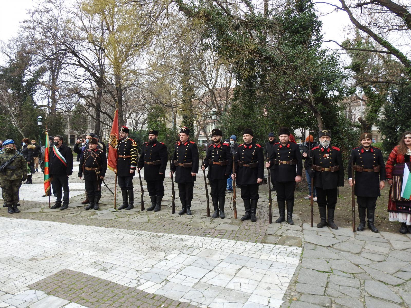 СКСО участва в отбелязването на 143 години от Освобождението на Пловдив (ГОЛЯМА ПАТРИОТИЧНА ГАЛЕРИЯ)