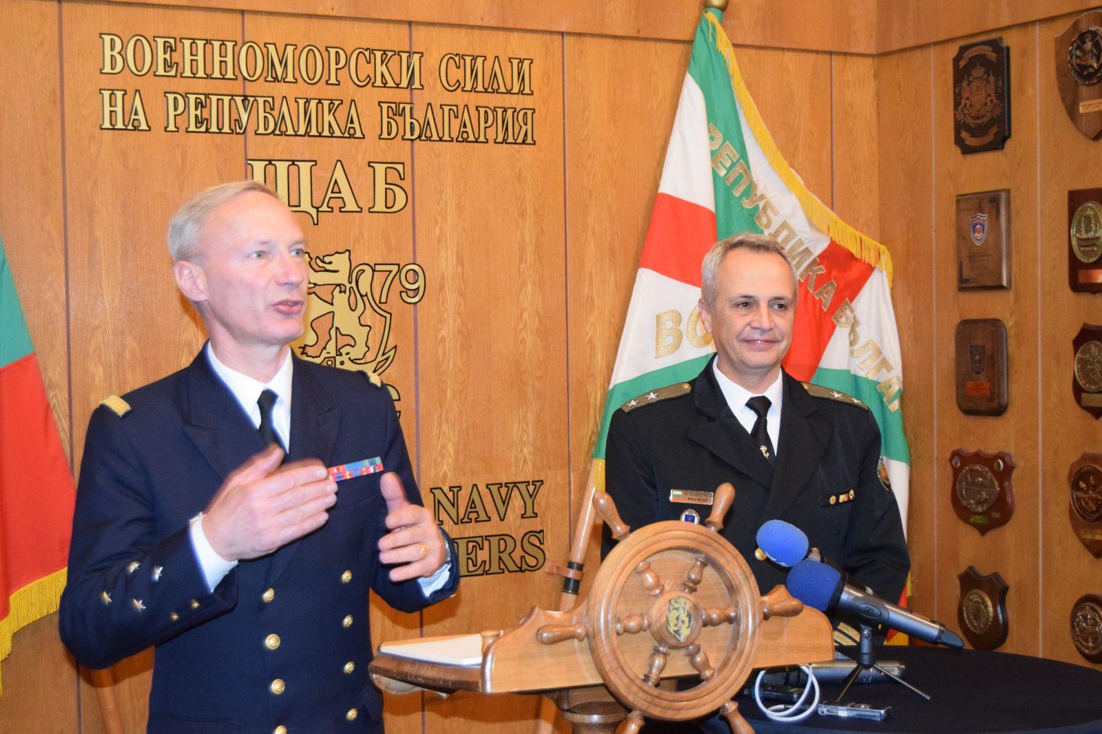 България и Франция засилват военноморското си сътрудничество
