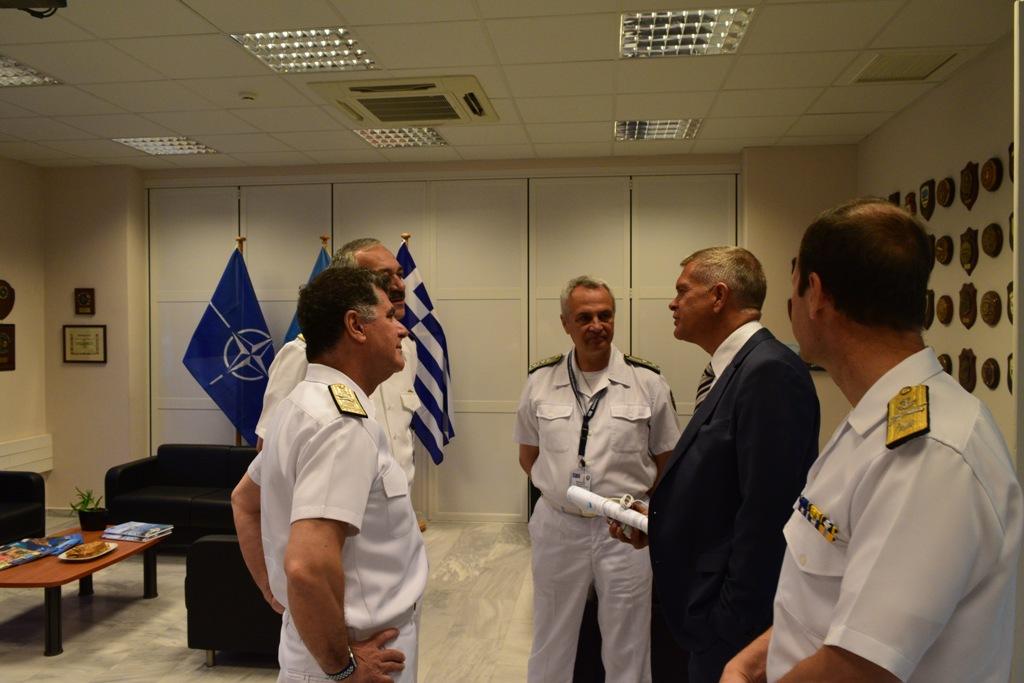 КОМАНДИРЪТ НА ВМС УЧАСТВА НА ГОДИШНАТА КОНФЕРЕНЦИЯ НА ЦЕНТЪРА НА НАТО ЗА ПОДГОТОВКА ПО МОРСКИ ВЪЗПИРАЩИ ОПЕРАЦИИ
