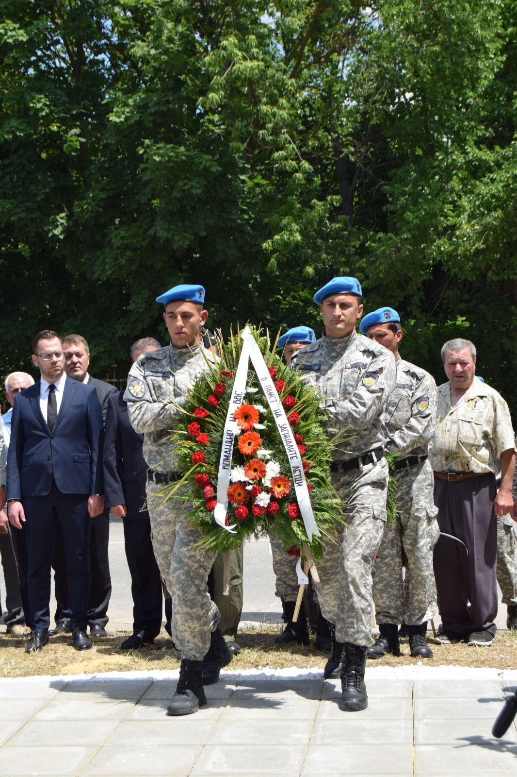 70 години 26-и рап Толбухин/Добрич - откриване на паметна плоча на загиналите при изпълнение на служебния си дълг  (ГАЛЕРИЯ)
