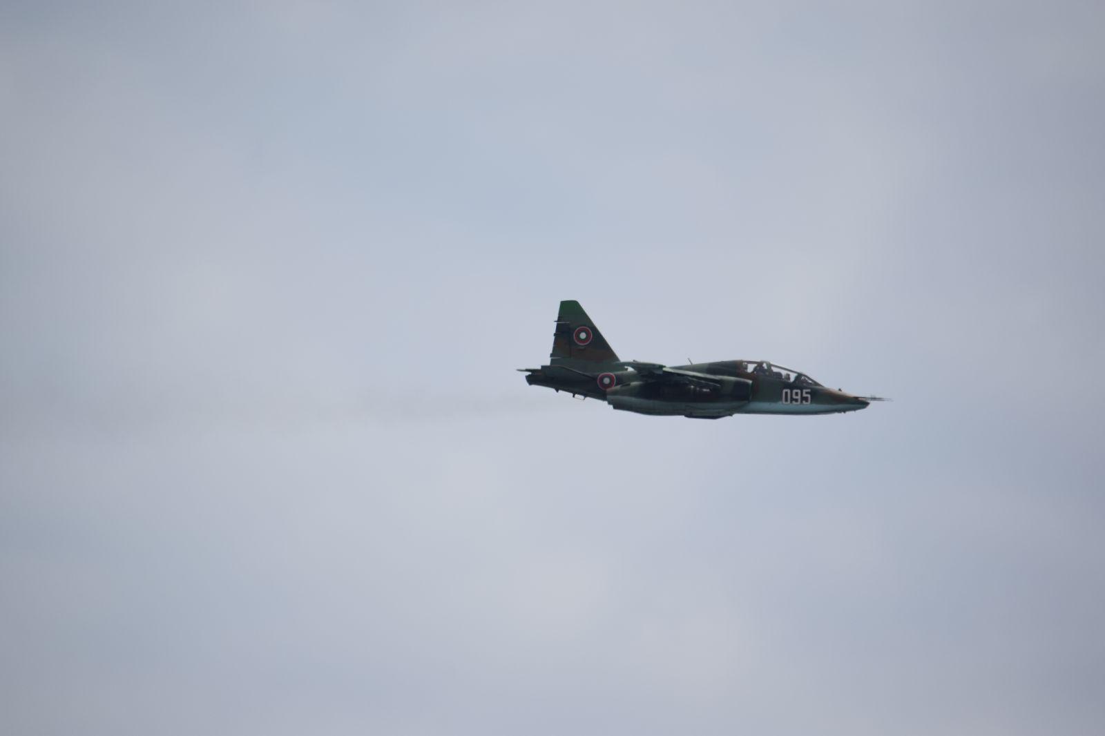 """ТУБЕС """"Шабла 2019"""" Част 4 ген. Цанко Стойков, командир на ВВС: Ако няма ремонт на Су-25, от 2020 г. самолетът спира да лети"""