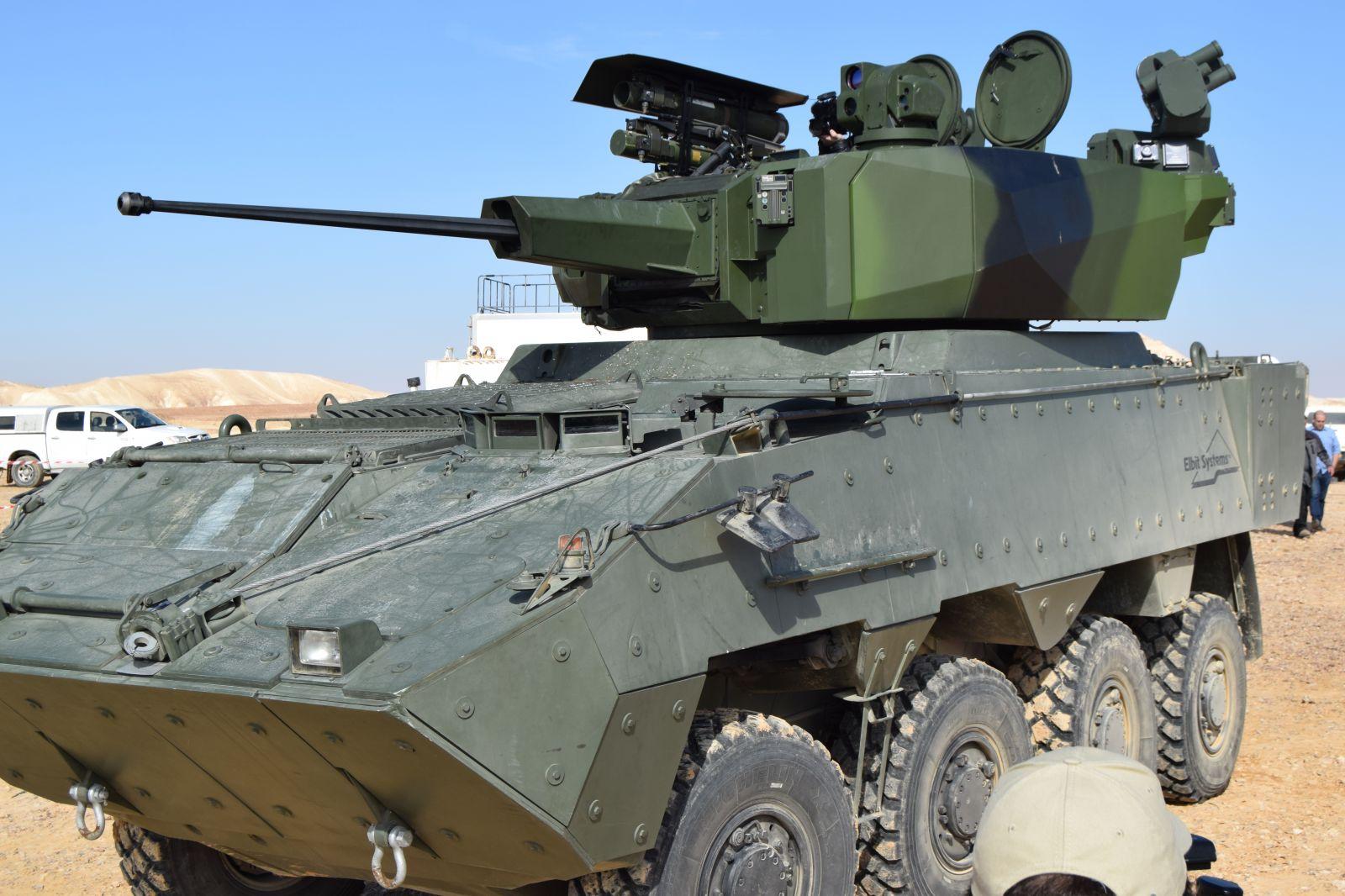 Elbit демонстрира куполът MT30 Mk II в конфигурацията предложена за новите български бойни машини (ЕКСКЛУЗНА ОРЪЖЕЙНА ГАЛЕРИЯ)