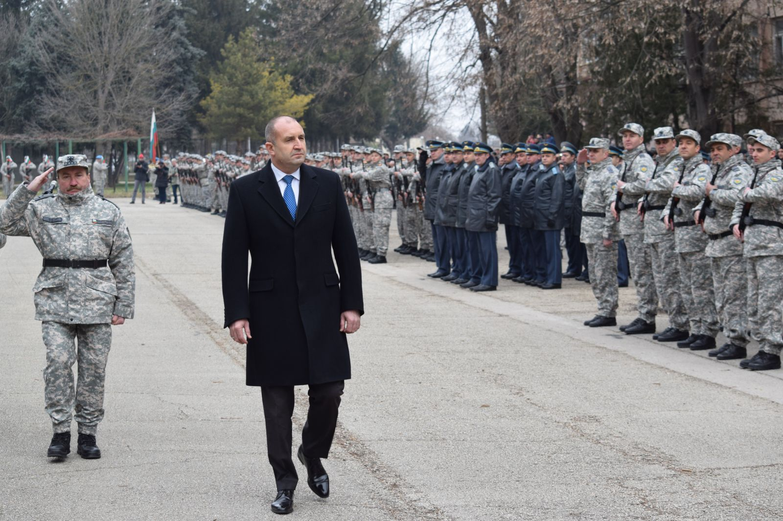 GALLERY - AIR FORCE SCHOOL IN DOLNA MITROPOLIA REOPENS!