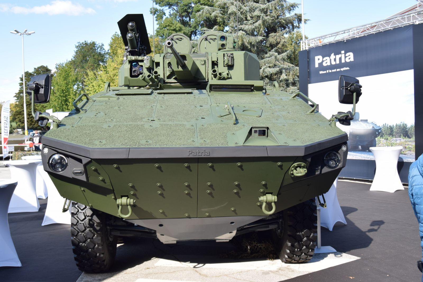 ХЕМУС 2020 - Patria AMV 8x8 е напълно съвместима с техническите изисквания на RFP на конкурса за нови бойни машини и е готова за тестване от българската армия (ГОЛЯМА ГАЛЕРИЯ)