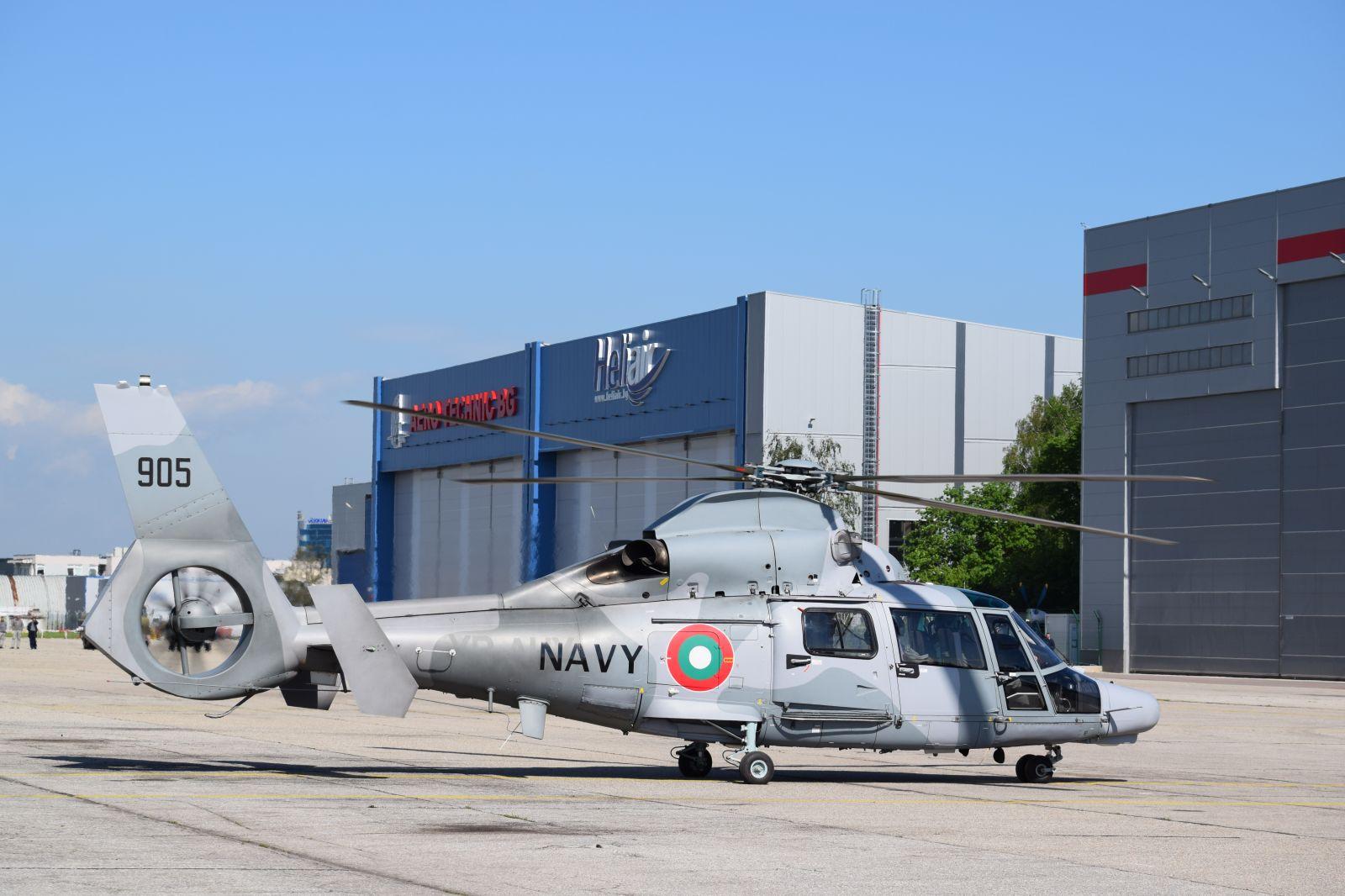 Генерална репетиция за въздушната демонстрация на 6 май - Част 3 Военноморските вертолети AS565MB Panther и AS365N3+ Dauphine (ГОЛЯМА АВИАЦИОННА ГАЛЕРИЯ)