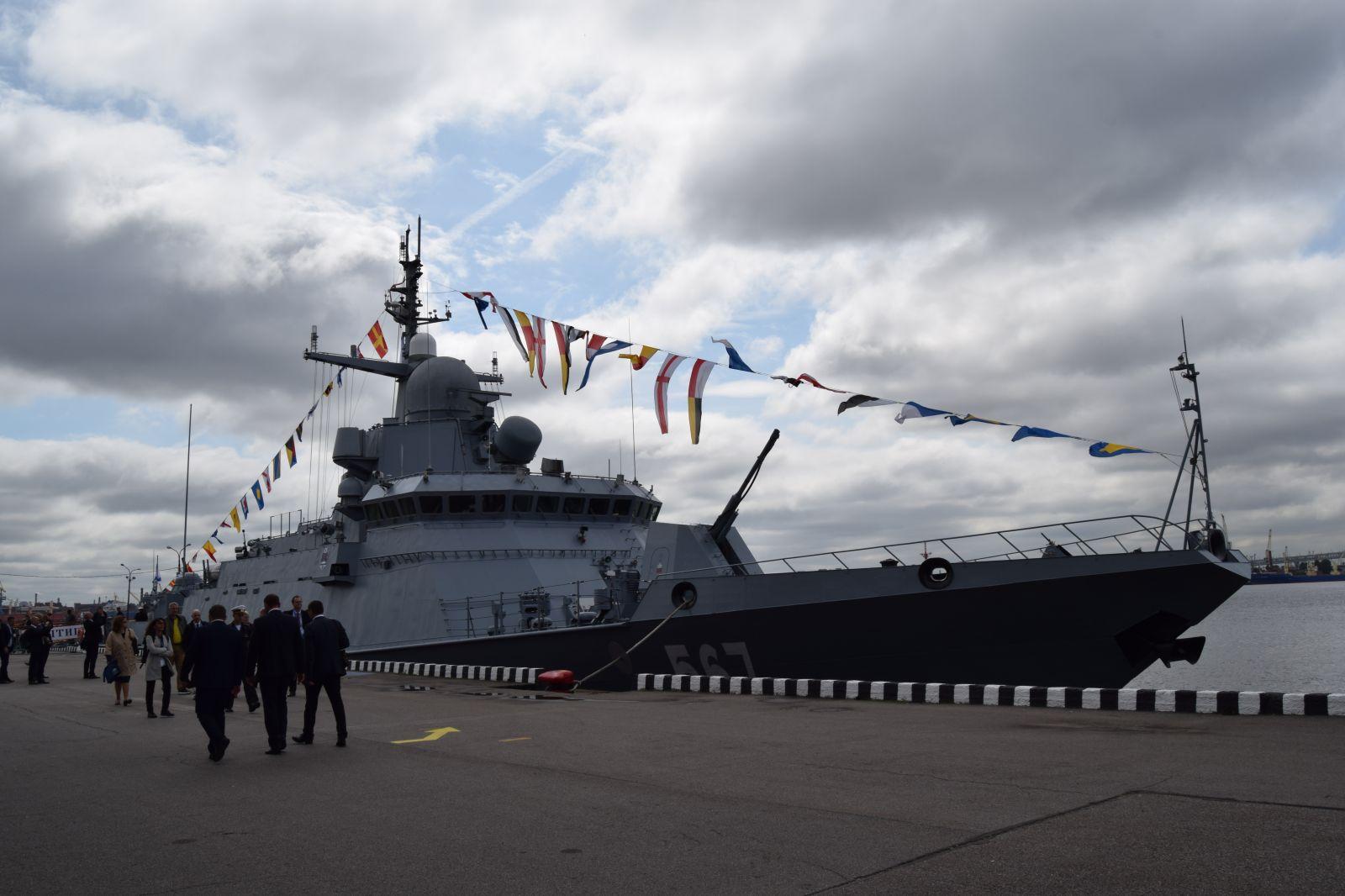 МВМС-2019 - Част от новите кораби на Русия