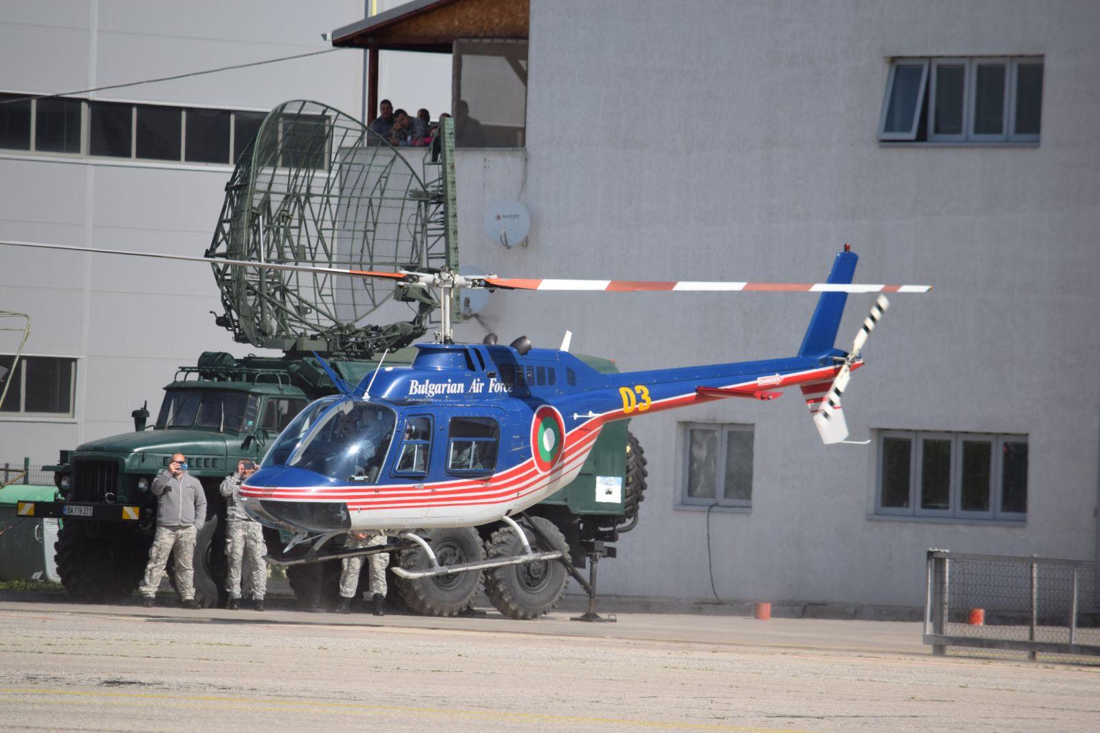 Генерална репетиция за въздушната демонстрация на 6 май - Част 2 учебно-щурмовото ято с Ми-24В и два Bell-206B3 (ГОЛЯМА АВИАЦИОННА ГАЛЕРИЯ)