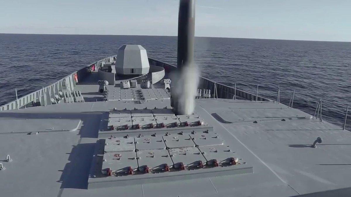 От фрегатата «Адмирал Горшков» е извършена изпитателна стрелба с ракета  «Циркон»