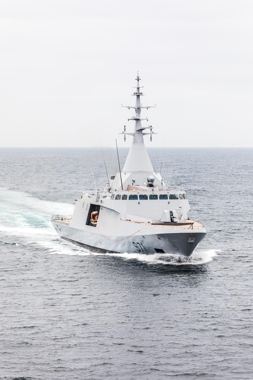 Naval Group предаден първата корвета Gowind, ENS ELFATEH,  на ВМС на Египет