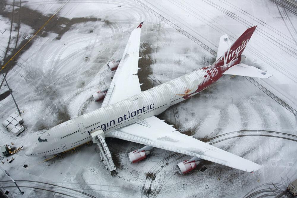 Последно сбогом с Boeing B747-400 на Virgin Atlantic - вечеря на борда за £50