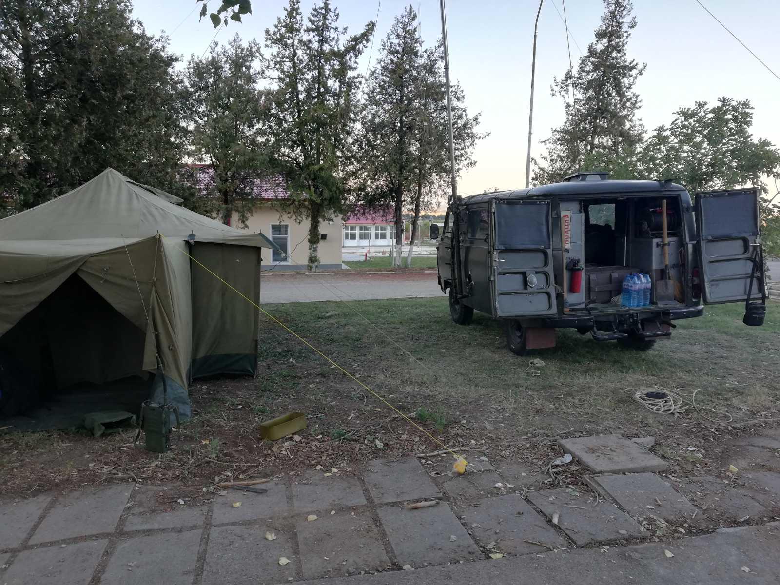 """Полева подготовка на 3-а група """"Специални сили"""" на УТК """"Црънча"""""""