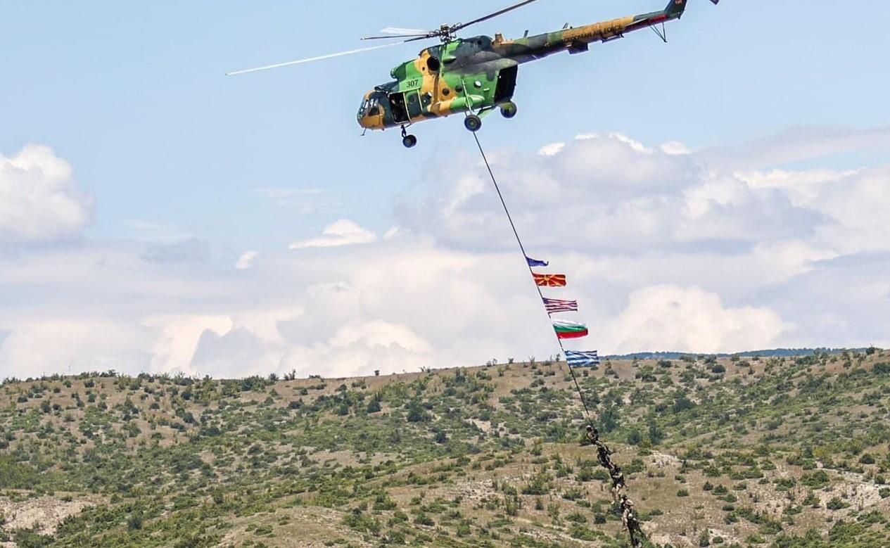 СКСО в учението Decisive strike-21 в Северна Македония