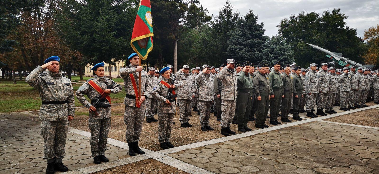16 октомври във Военно-въздушна учебна база - Долна Митрополия (ГАЛЕРИЯ)
