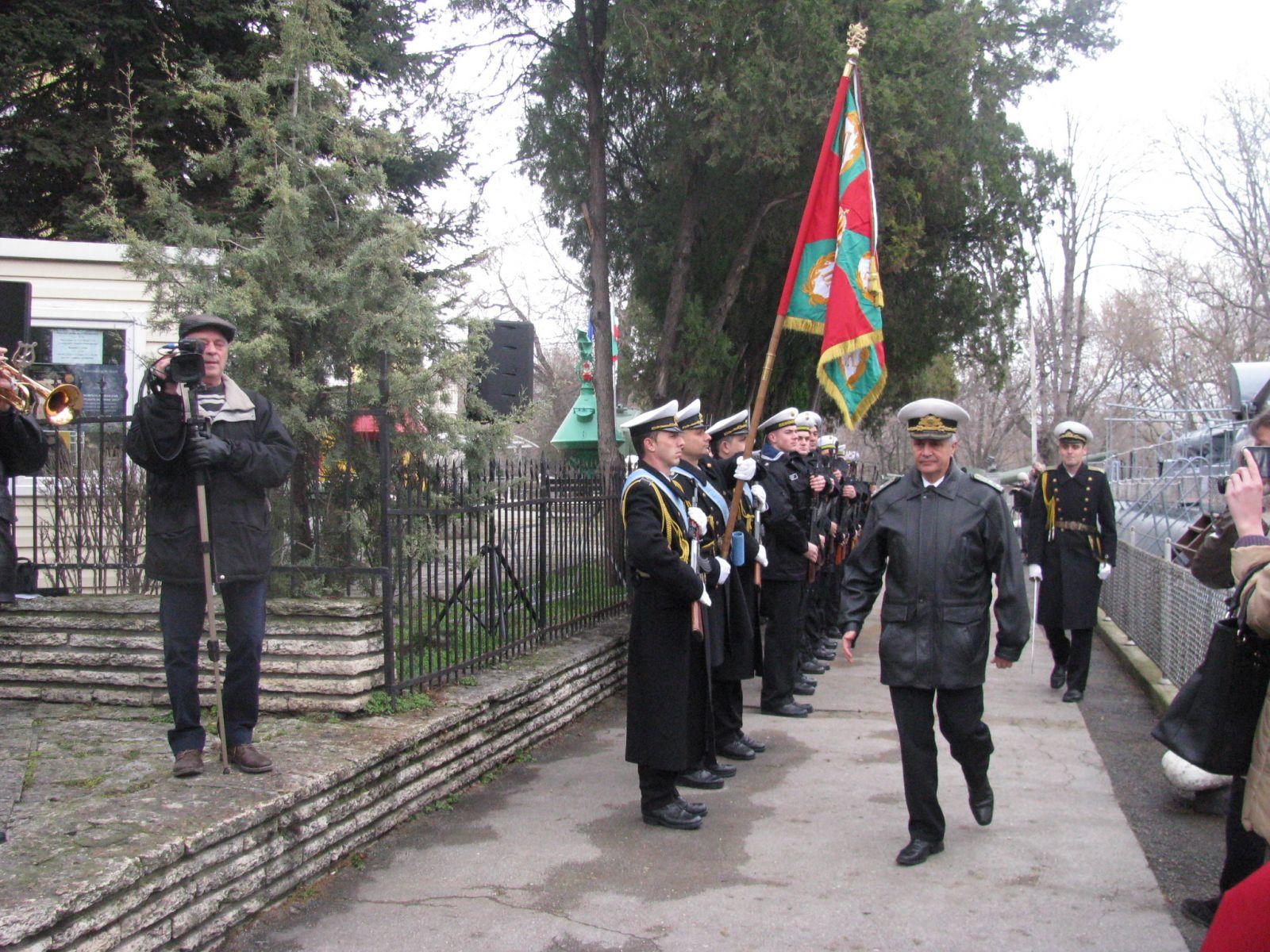 Отбелязахме тържествено 150-тата годишнина от рождението на капитан I ранг Димитър Добрев (ГАЛЕРИЯ)