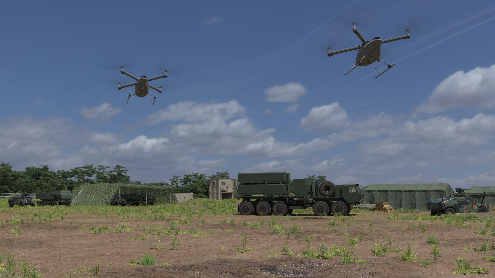 Kaman представи среден товарен БЛА за Корпуса на морската пехота на САЩ, който ще превозва безопасно жизнено необходими материали на големи разстояния
