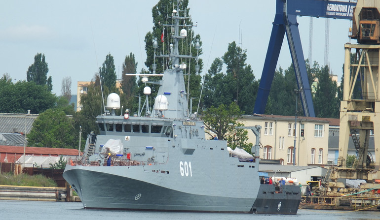 ORP Kormoran Heads Out For The Sea Trials [Photos]