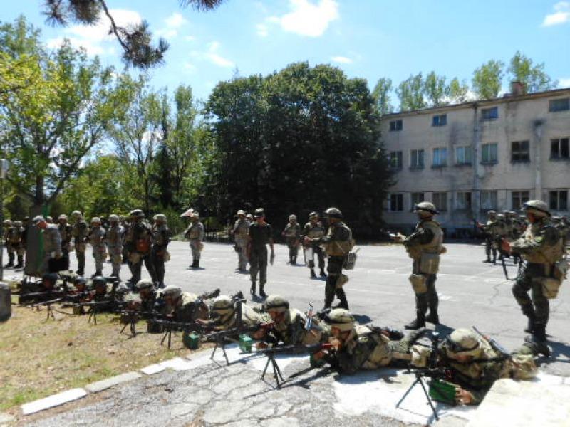 """41-ият контингент получи сертификация за участие в мисията на НАТО """"Решителна подкрепа"""" в Афганистан"""