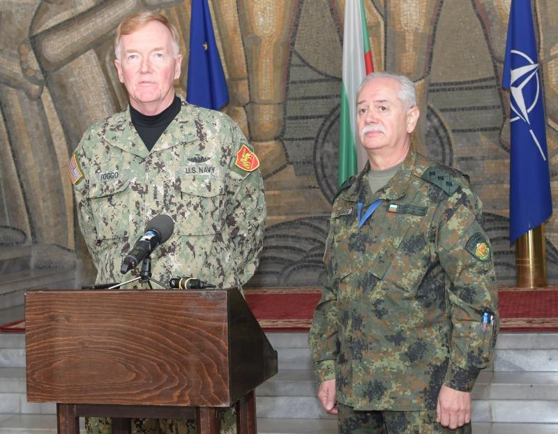 """Командващият на СКС ген.-лейтенант Любчо Тодоров по повод международното учение Naples Blueprint: """"Заедно сме по-силни"""""""