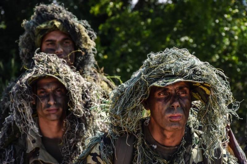 Снайперистите от Сухопътните войски демонстрираха постигнати умения по време на тактико-специалната си подготовка