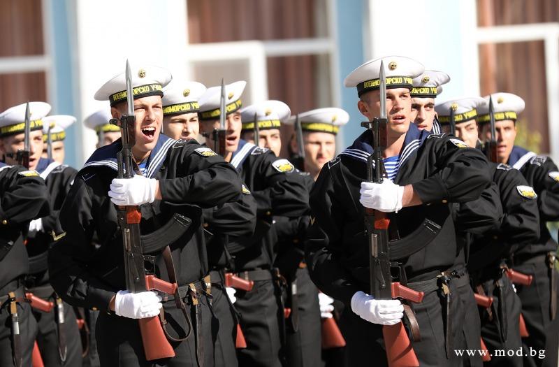 "Клетва във ВВМУ ""Н. Й. Вапцаров"""