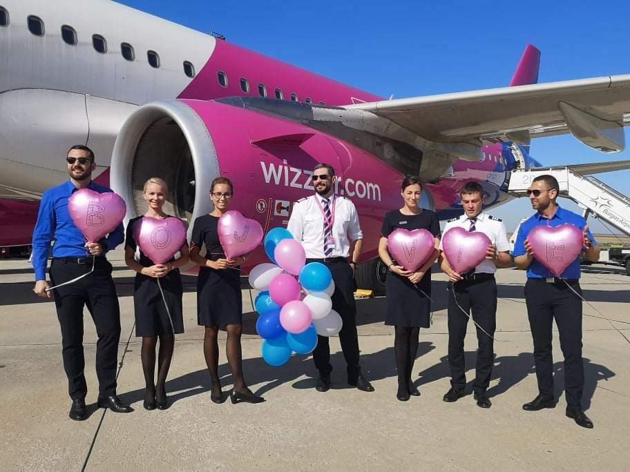 Wizz air с нова целогодишна линия Бургас - Виена от 1 юли 2020 г. (ГОЛЯМА СЛЪНЧЕВА ГАЛЕРИЯ)
