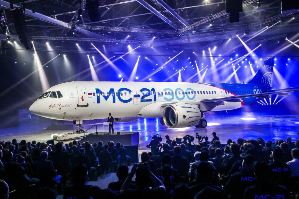 Руският пътнически MC-21, потенциален конкурент на двойката Boeing и Airbus, влиза в серийно производство