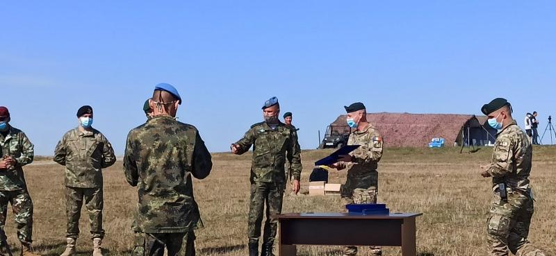 Военнослужещи от СКСО участваха в многонационалното учение CARPATIAN EAGLE 2020 в Румъния