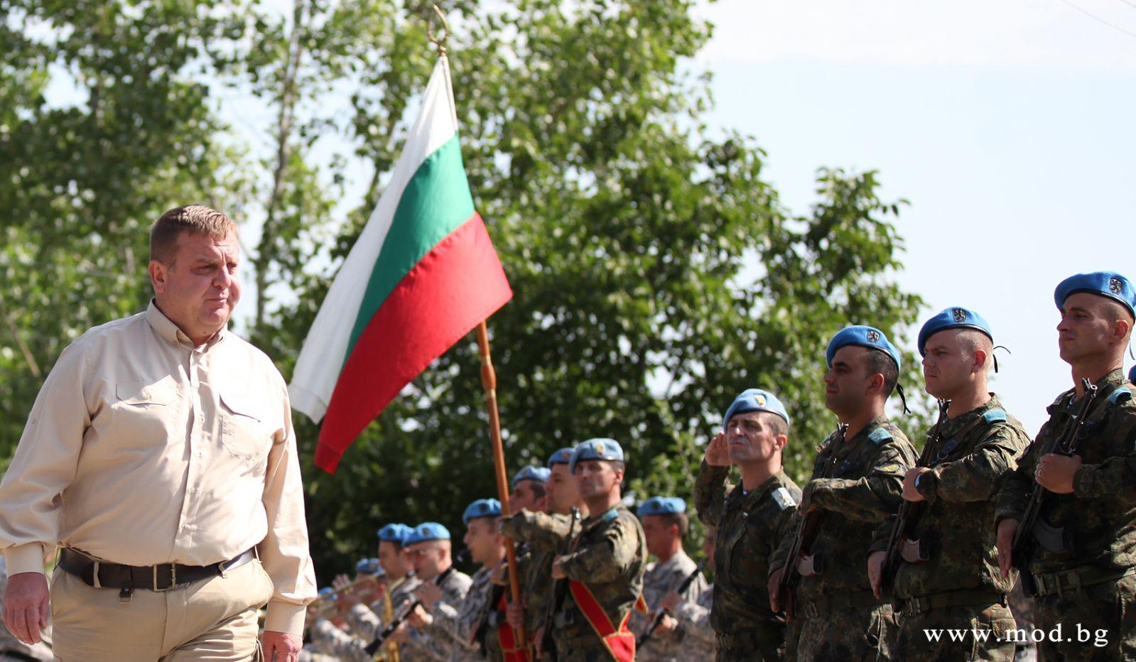 Министърът на отбраната Красимир Каракачанов: Нашите Специални сили са на много високо ниво (ГАЛЕРИЯ)