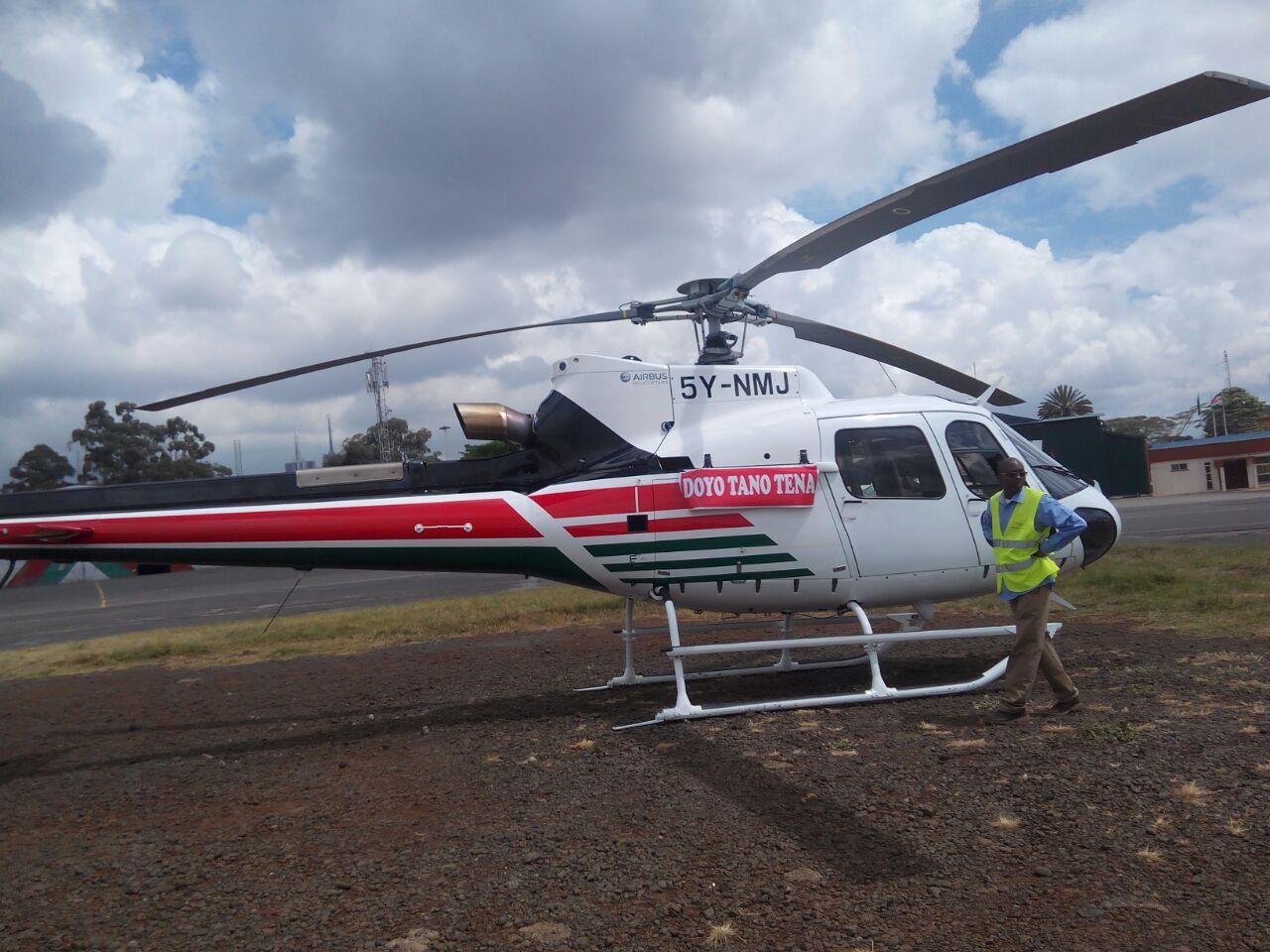 5 загинаха при катастрофа с вертолрет Н125 в Кения (снимки)