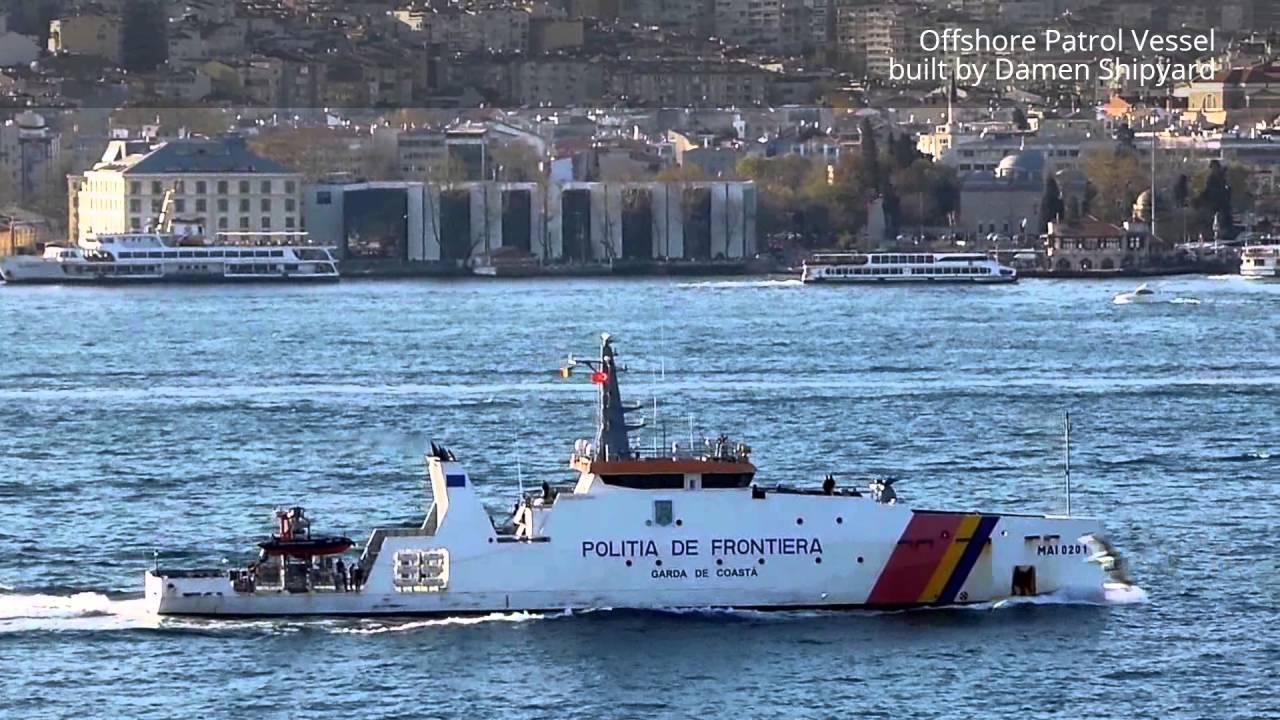 Румънски гранично полицейски кораб получи разрешение за влизане и пребиваване във вътрешните морски води и териториалното море на България (ЕКСКЛУЗИВНА ГАЛЕРИЯ)