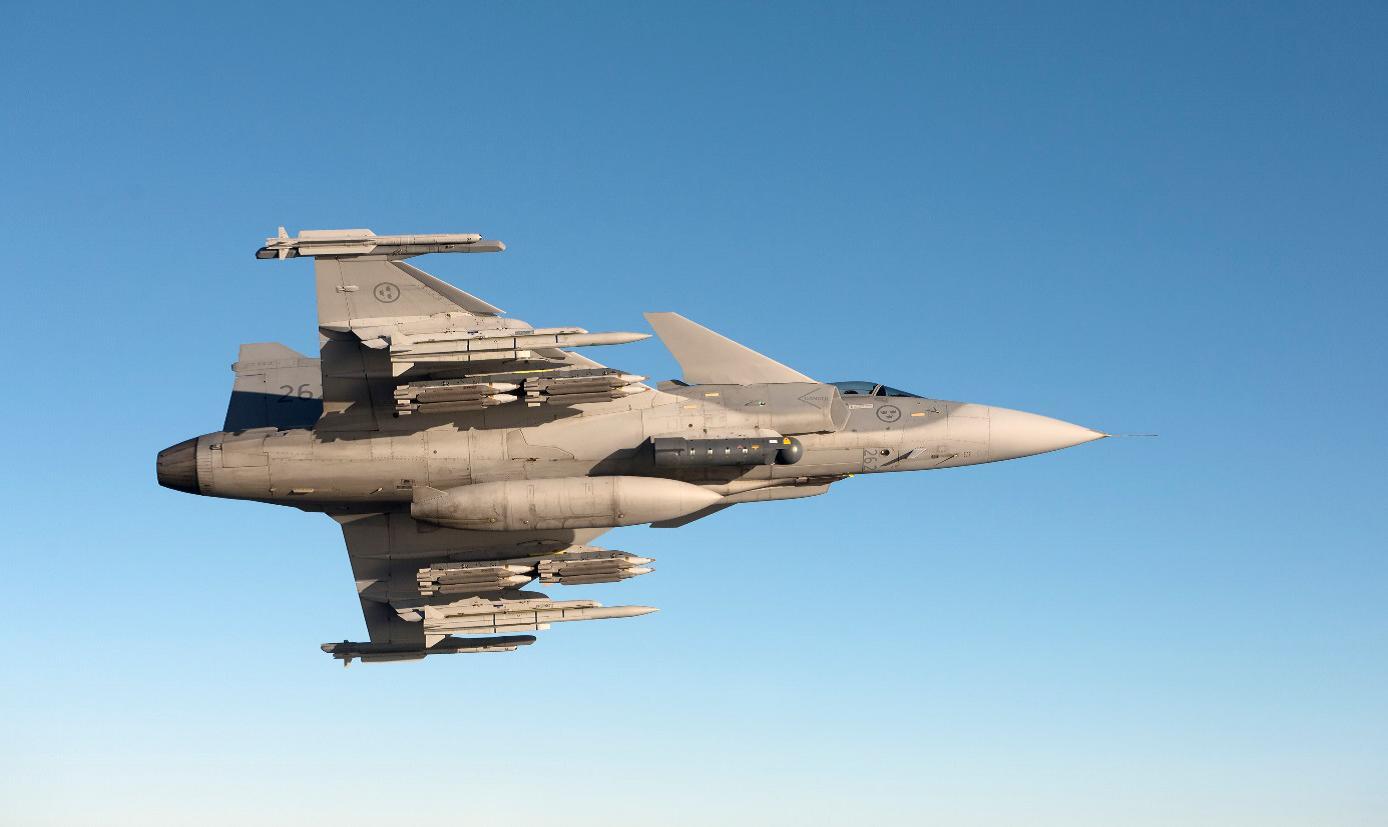 Разлики между Gripen и F-16